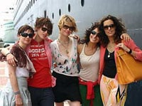 Olivia Cruise with L-Word Cast